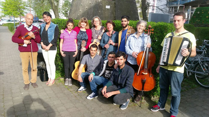 Probe: Multikulturelles Orchester  der Universitätsstadt Gießen